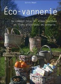 ECO-VANNERIE - OU COMMENT RECYCLER VIEUX JOURNAUX ET LIENS PLASTIQUES EN VANNERIE