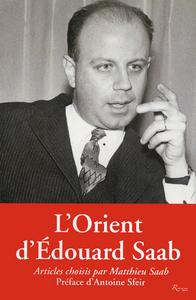 L'ORIENT D'EDOUARD SAAB. ARTICLES 1963-1976