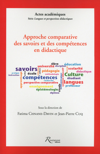 APPROCHE COMPARATIVE DES SAVOIRS ET DES COMPETENCES DIDACTIQUE