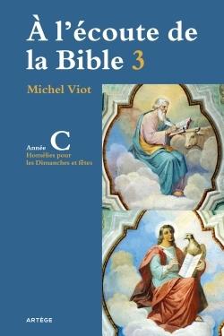 A L'ECOUTE DE LA BIBLE ANNEE C