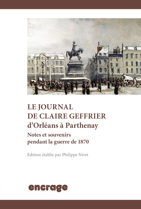JOURNAL DE CLAIRE GEFFRIER D'ORLEANS A PARTHENAY (LE)