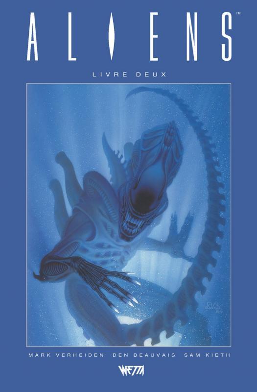 ALIENS, LIVRE DEUX - EDITION HARDCORE (DEN BEAUVAIS)