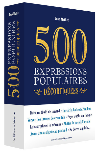 500 EXPRESSIONS POPULAIRES DECORTIQUEES