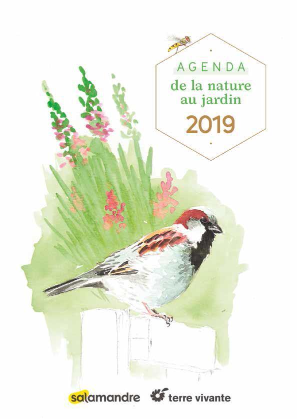 AGENDA DE LA NATURE AU JARDIN 2019 (L')