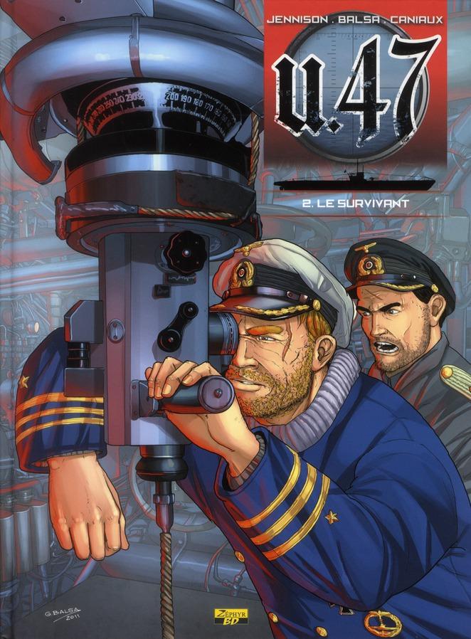 U-47 T02 - BD DOC - LE SURVIVANT