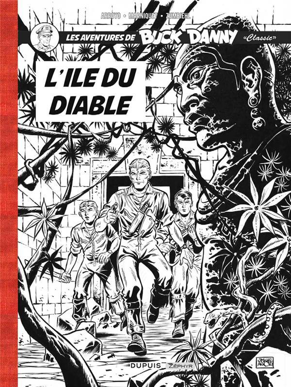 BUCK DANNY CLASSIC T4-L'ILE DU DIABLE N&B+EX LIBRIS