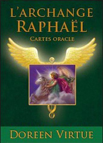 COFFRET L'ARCHANGE RAPHAEL CARTES ORACLES