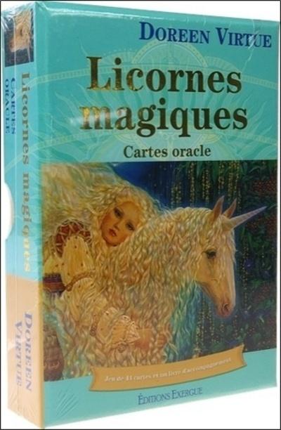 COFFRET LICORNES MAGIQUES CARTES ORACLE