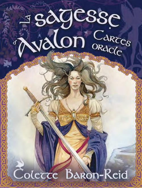 SAGESSE D'AVALON (LA) - CARTES ORACLE COFFRET