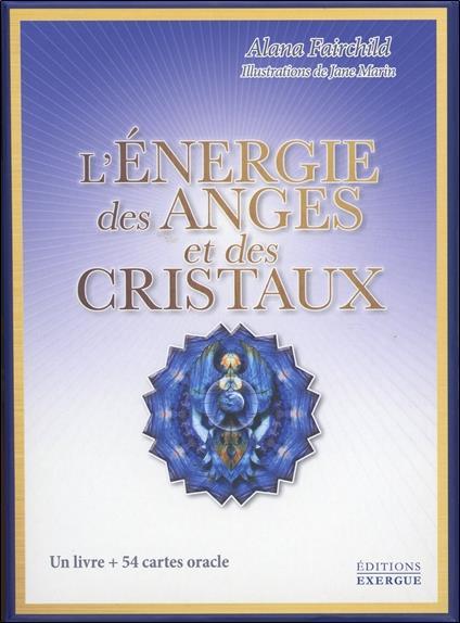 COFFRET L'ENERGIE DES ANGES ET DES CRISTAUX