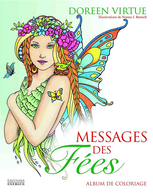 MESSAGES DES FEES, ALBUM DE COLORIAGE
