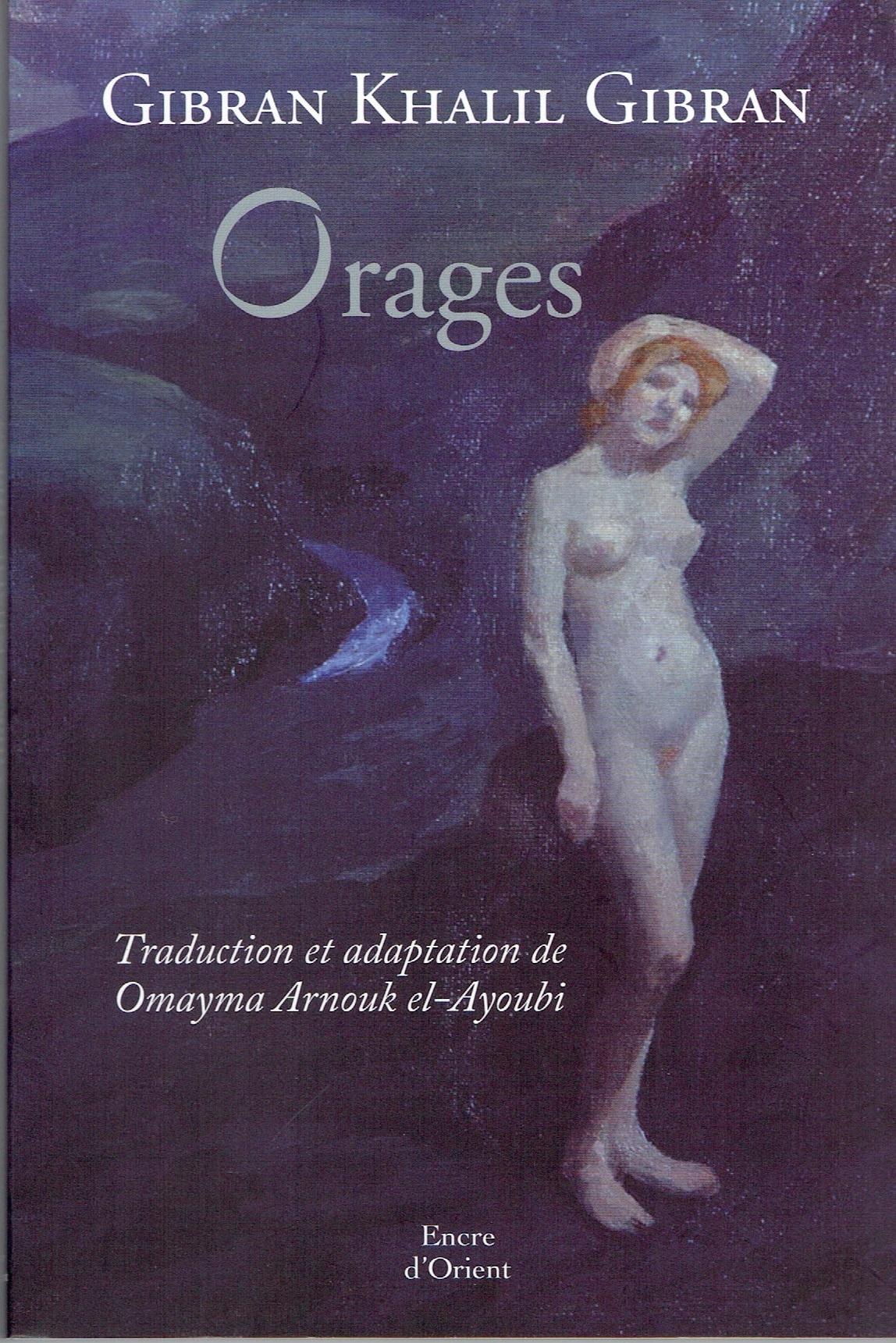 ORAGES DE GIBRAN KHALIL GIBRAN