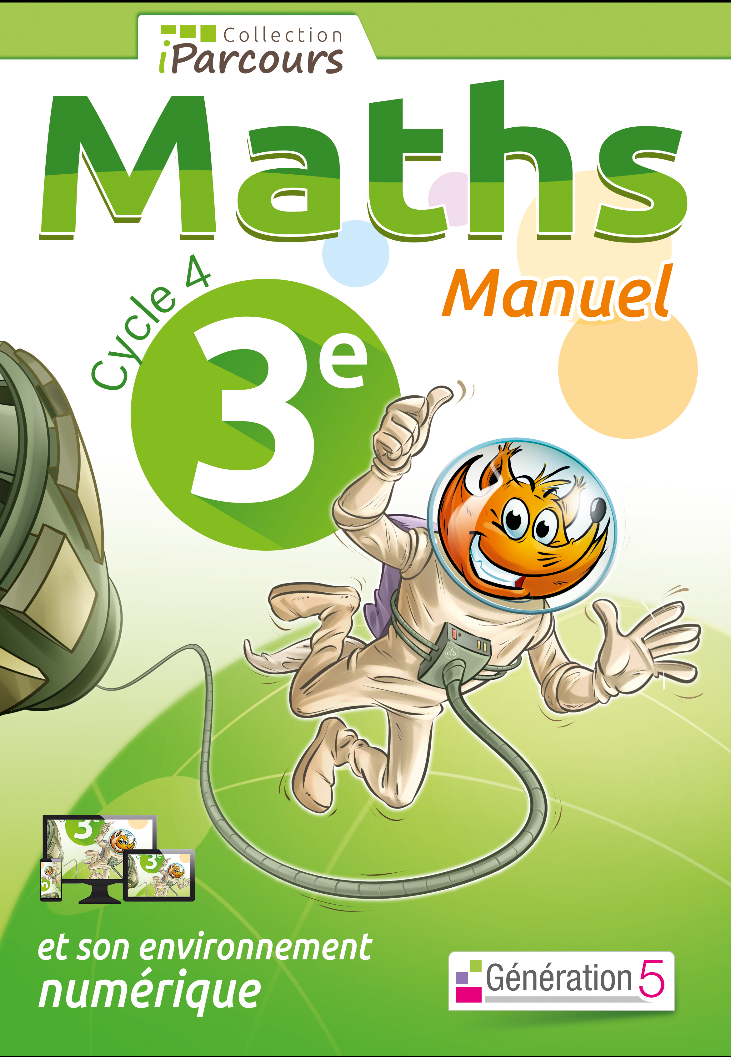 MANUEL IPARCOURS MATHS CYCLE 4 VOL. 3E (2016)