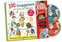 100 COMPTINES ET JEUX DANSES