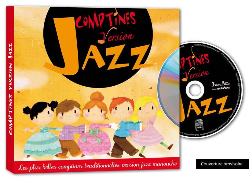 COMPTINES VERSION JAZZ + CD