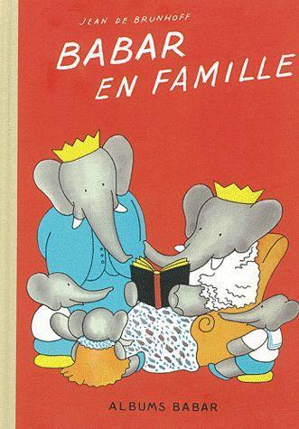 BABAR EN FAMILLE - EDITION ORIGINALE 1935