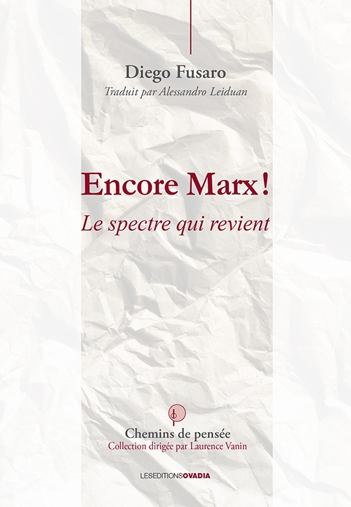 ENCORE MARX: LE SPECTRE QUI REVIENT