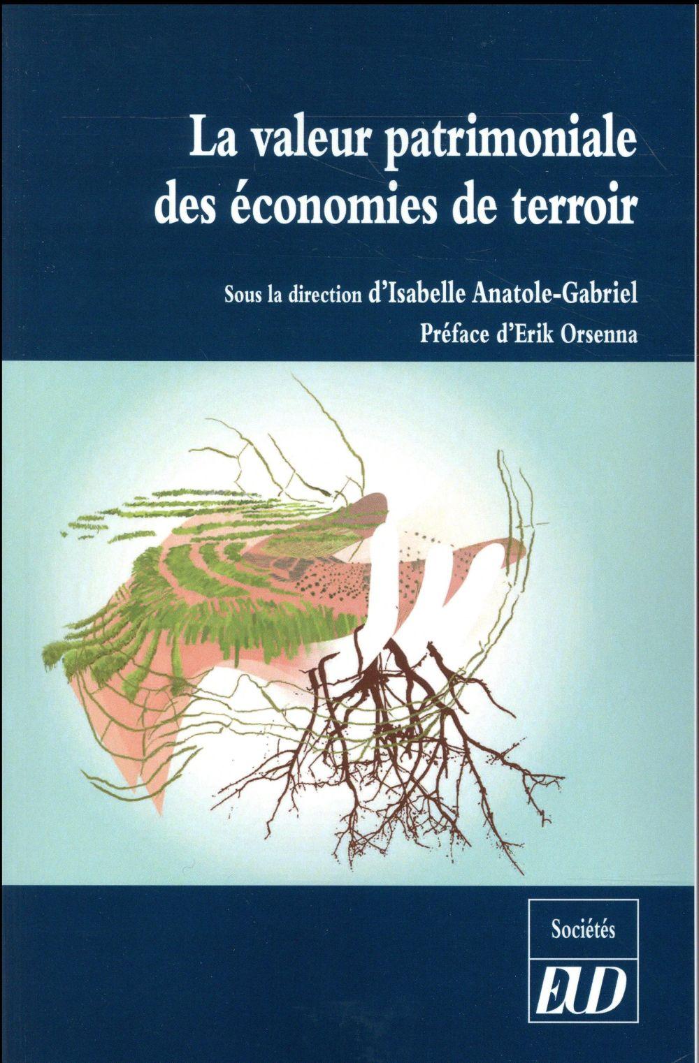 VALEUR PATRIMONIALE DES ECONOMIES DE TERROIR