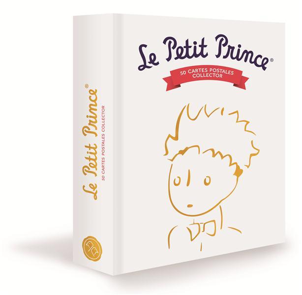 LE PETIT PRINCE, COFFRET DE 50 CARTES POSTALES