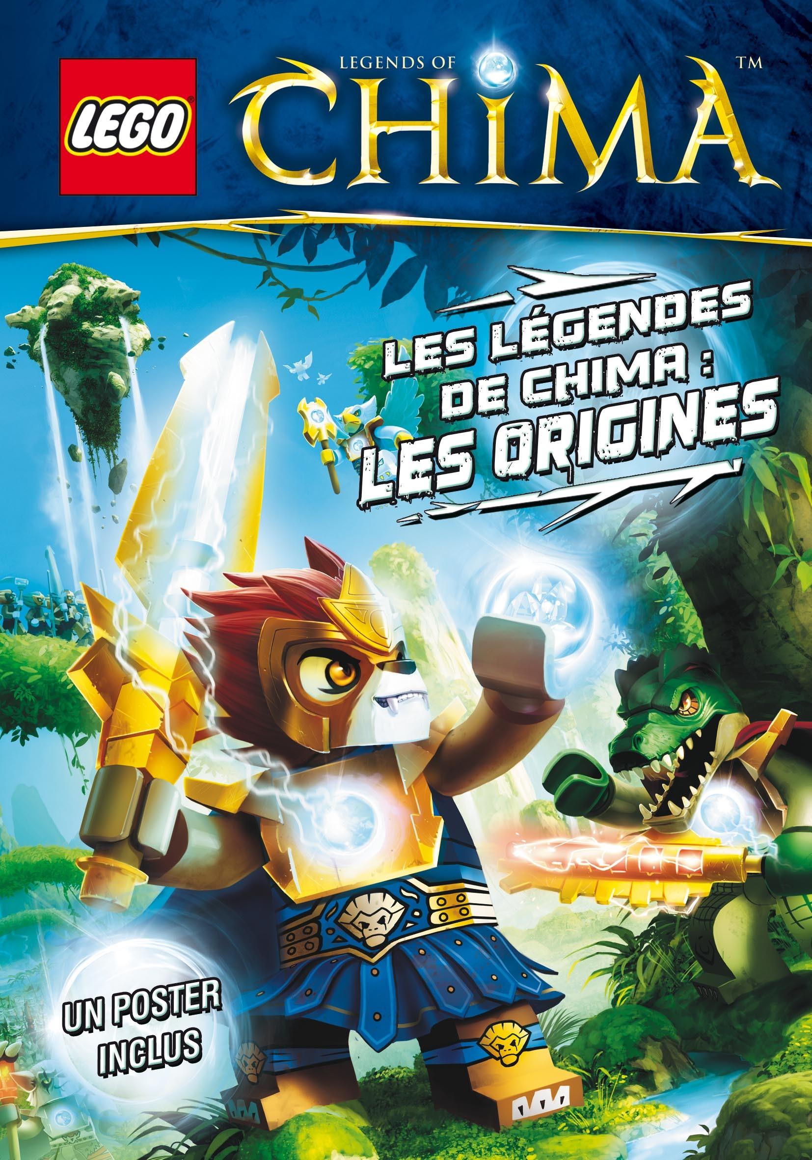 LEGO LEGEND OF CHIMA, LES ORIGINES