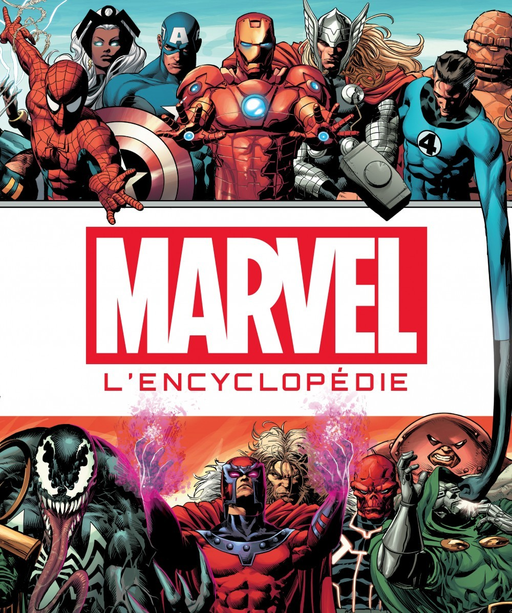 PARA BD - MARVEL : LA GRANDE ENCYCLOPEDIE