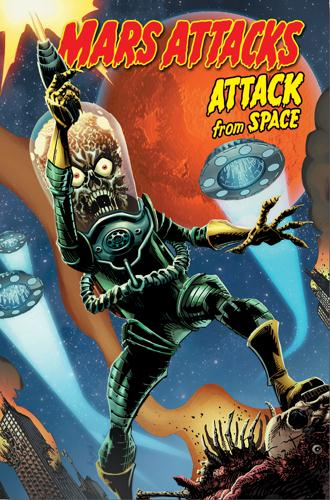 MARS ATTACKS - ATTACK FROM SPACE