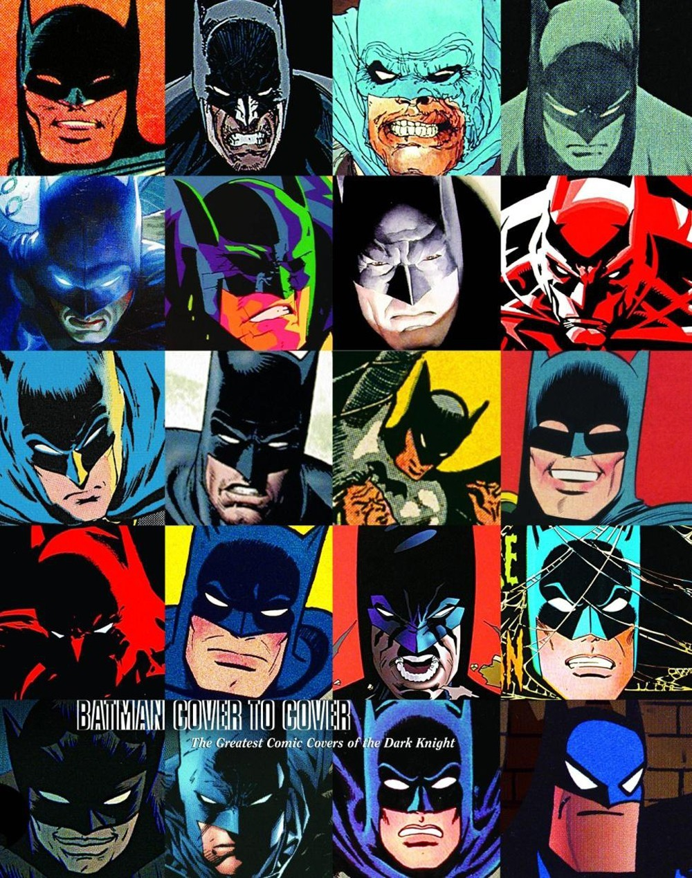 BATMAN COVER TO COVER