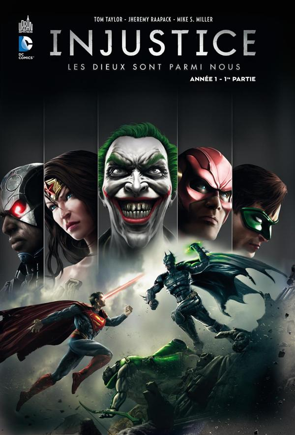 INJUSTICE T1+JEU PC GOTHY