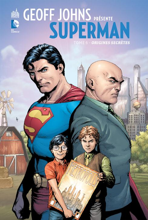 GEOFF JOHNS PRESENTE SUPERMAN