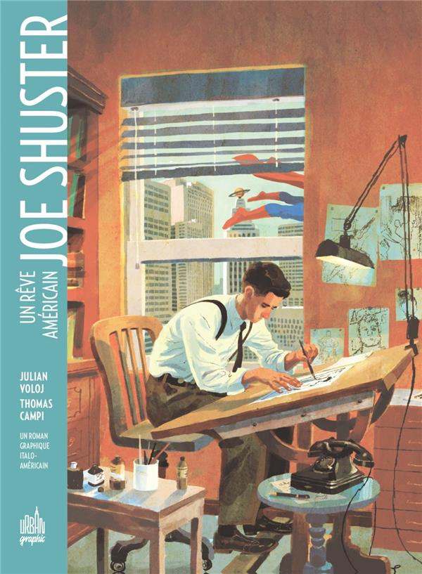 JOE SHUSTER - URBAN GRAPHIC