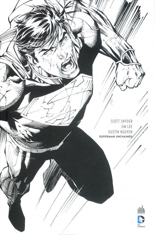 DC RENAISSANCE - T01 - SUPERMAN UNCHAINED N&B