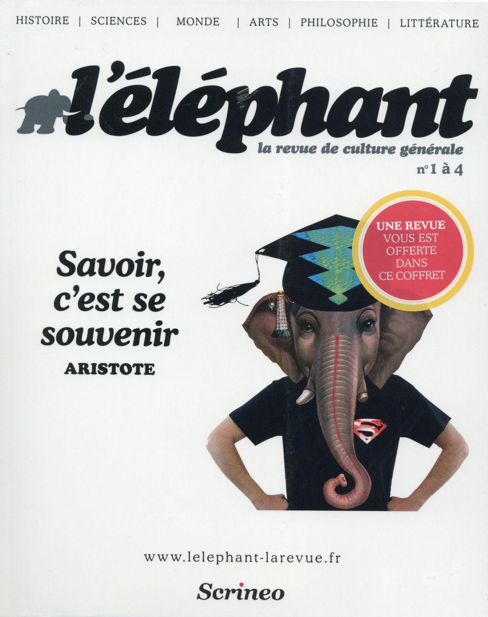 COFFRET L'ELEPHANT : LA REVUE NUMERO 1 A 4