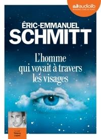 L'HOMME QUI VOYAIT A TRAVERS LES VISAGES - LIVRE AUDIO 1CD MP3