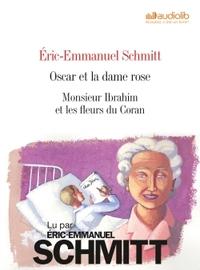 ERIC-EMMANUEL SCHMITT : OSCAR ET LA DAME ROSE - MONSIEUR IBRAHIM (COFFRET 2 CD)