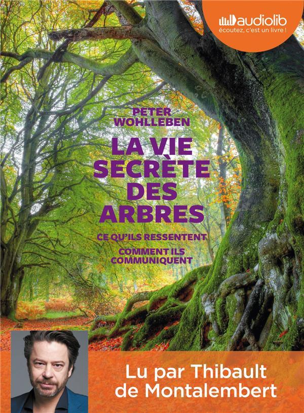 LA VIE SECRETE DES ARBRES - LIVRE AUDIO 1CD MP3