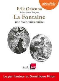 LA FONTAINE, UNE ECOLE BUISSONNIERE - LIVRE AUDIO 1CD MP3