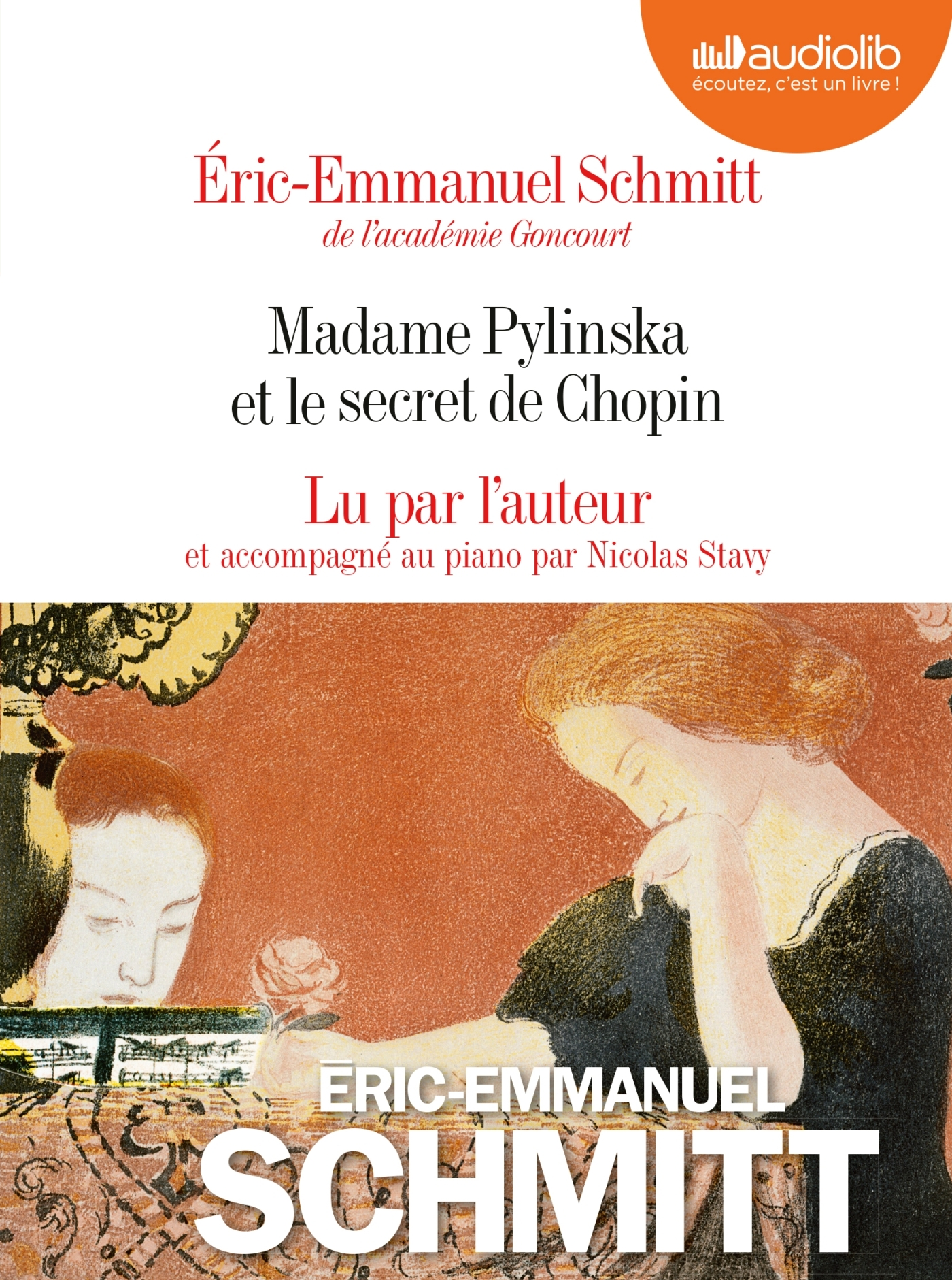 MADAME PYLINSKA ET LE SECRET DE CHOPIN - LE CYCLE DE L'INVISIBLE - LIVRE AUDIO 2 CD AUDIO