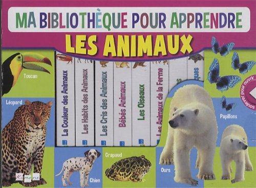 MA BIBLIOTHEQUE POUR APPRENDRE LES ANIMAUX