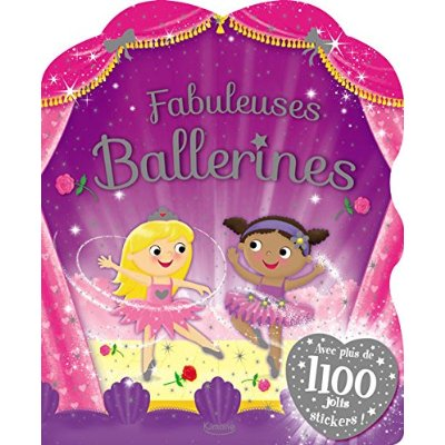 FABULEUSES BALLERINES (COLL. MEGA STICKERS)