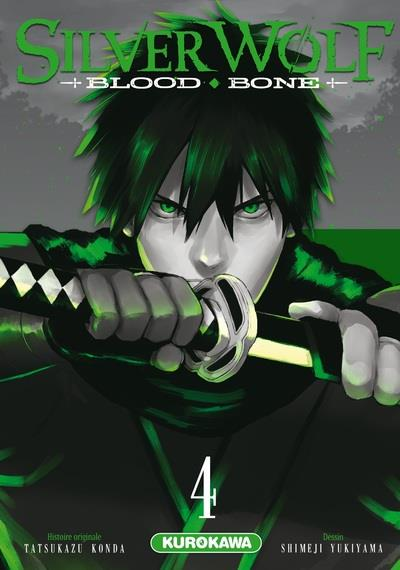 SILVER WOLF - BLOOD BONE - TOME 4