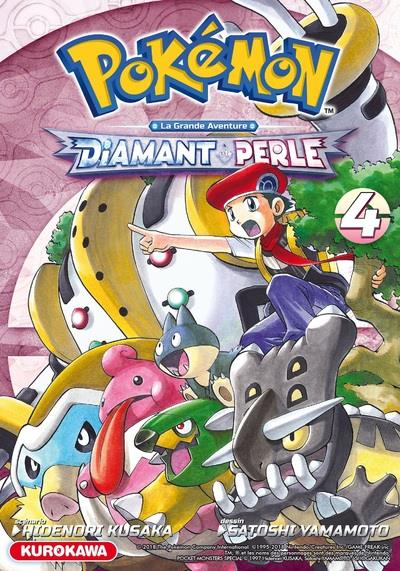 POKEMON DIAMANT/PERLE/PLATINE - TOME 4 - VOL4