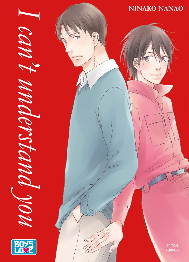I CAN'T UNDERSTAND YOU - LIVRE (MANGA) - YAOI