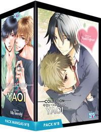 PACK BOY'S LOVE - PARTIE 08 - 5 MANGAS (LIVRES) - YAOI
