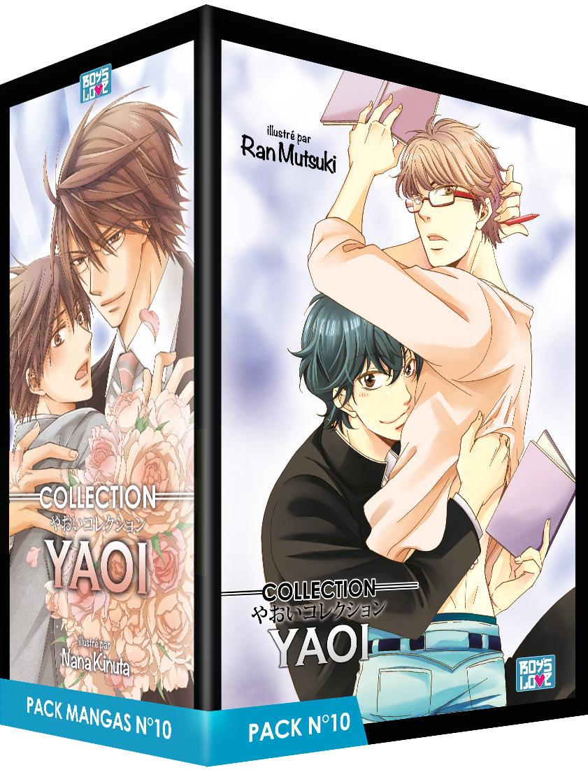 PACK BOY'S LOVE - PARTIE 10 - 5 MANGA (LIVRES) - YAOI