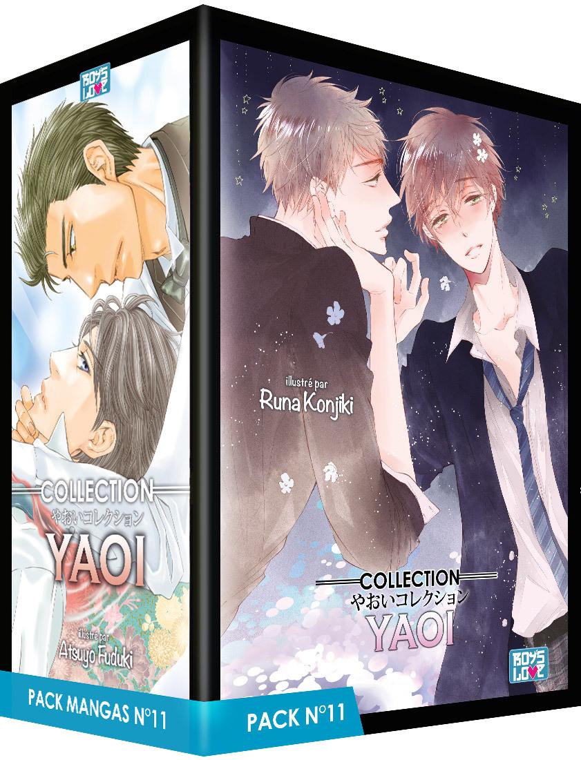 PACK BOY'S LOVE - PARTIE 11 - 5 MANGA (LIVRES) - YAOI
