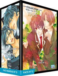 PACK BOY'S LOVE - PARTIE 12 - 5 MANGA (LIVRES) - YAOI