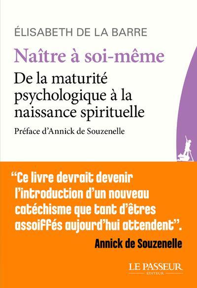 NAITRE A SOI-MEME