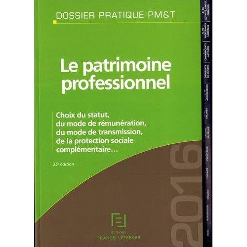 PATRIMOINE PROFESSIONNEL 2016