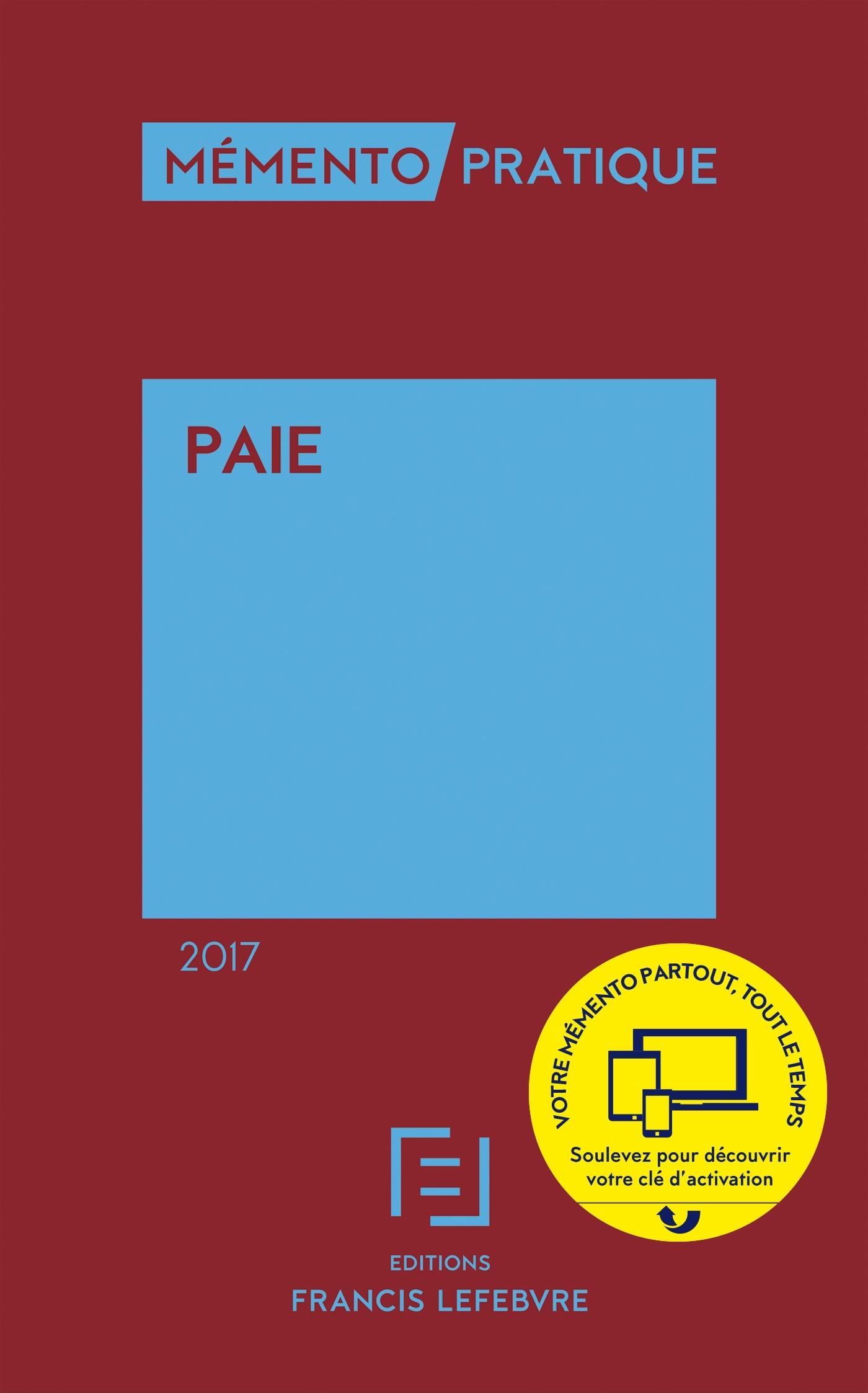 MEMENTO PAIE 2017