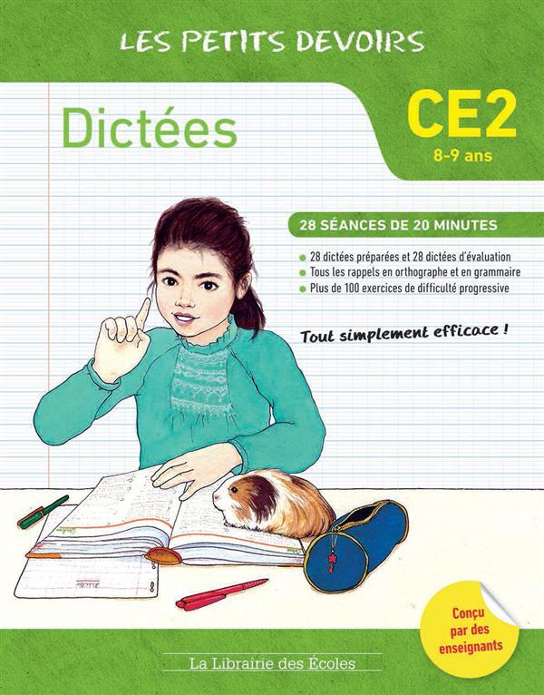 DICTEES CE2 LES PETITS DEVOIRS